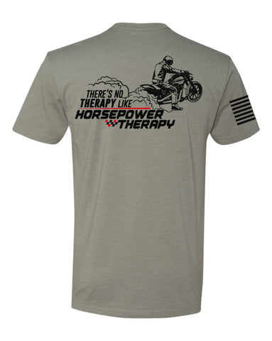 Horsepower Therapy Motorcycle Tee