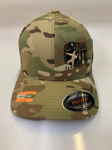 Multi Cam flex fit Frag Out Hat