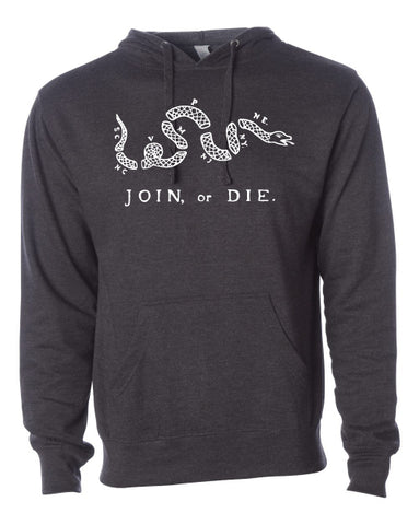 Join Or Die Mid-weight Hoodie