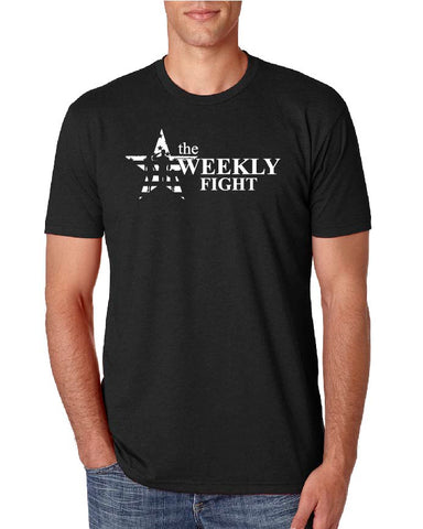 The Weekly Fight Black T-shirt