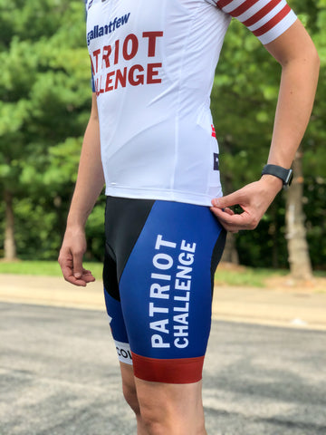 Patriot Challenge - Bicycle Bibs - Women's