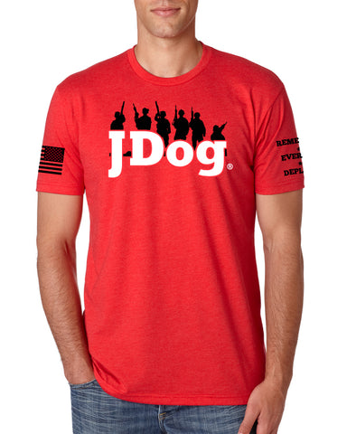JDOG - Remember Everyone Deployed Men's Tee