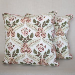 Pair of Agnes Caper Pillows