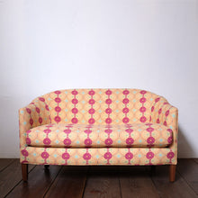 Load image into Gallery viewer, Crescent Loveseat in Amijao Pimento