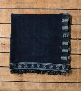 Antique Berber Indigo Textile