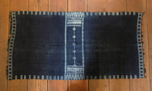 Load image into Gallery viewer, Antique Berber Indigo Textile