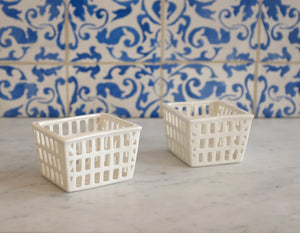 Porcelain Fruit Baskets