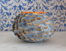 Load image into Gallery viewer, Blue Lecheguilla Basket - Christine Adcock