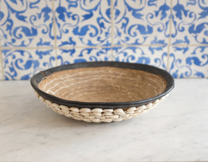 Cowrie Shell Bowl - Low