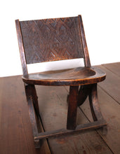 Load image into Gallery viewer, Antique Ethiopian Faux Folding Chair