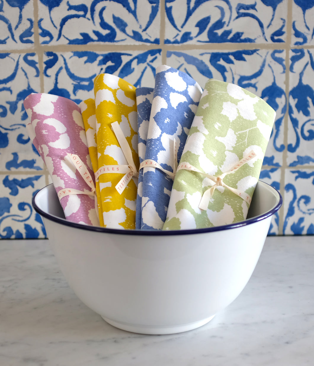 Raoul Tea Towel - Flowers