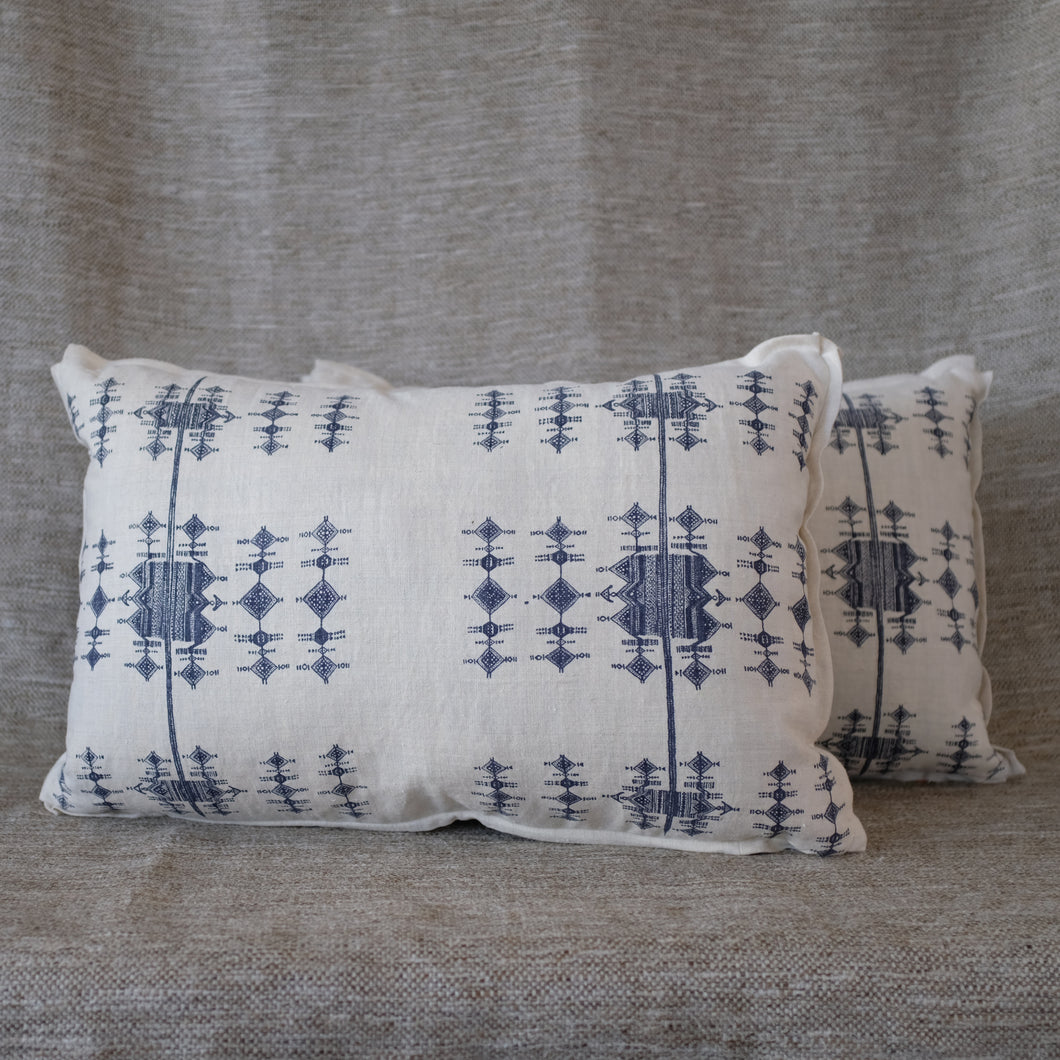 Pair of Fulani Indigo Pillows