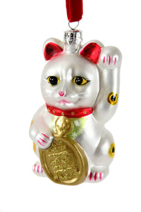 Lucky Cat Ornament