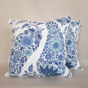 Pair of Kashmir Delft Pillows