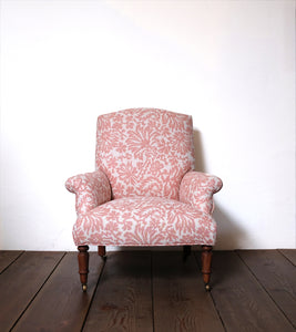 Fritillaria Chair in Leon Grapefruit