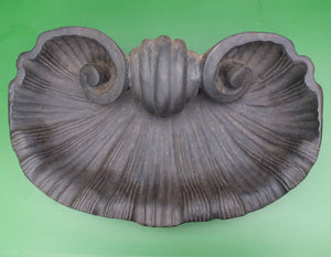 Stone Scallop Shell