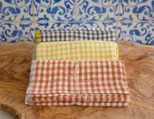 Load image into Gallery viewer, Gingham Tea Towels (set of 2)