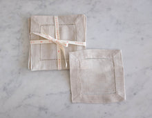 Load image into Gallery viewer, Linen Cocktail Napkins (set of 6)
