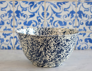 Splatterware Salad Bowl