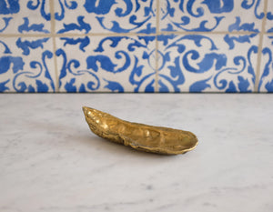 Brass Oyster Sculpture