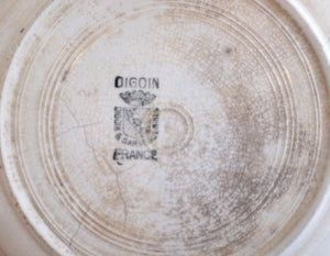 Antique French Glaze Sample Plate