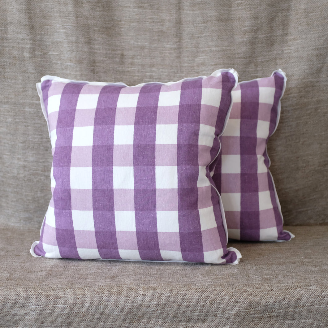 Pair of Poleng Lavender Pillows