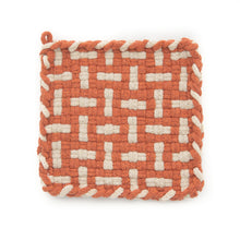 Load image into Gallery viewer, Handwoven Potholders (set of 2)