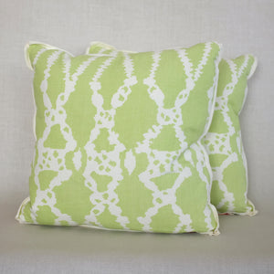 Pair of Sylvie Sapote Pillows