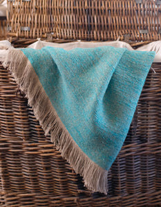 Woven Linen Throw