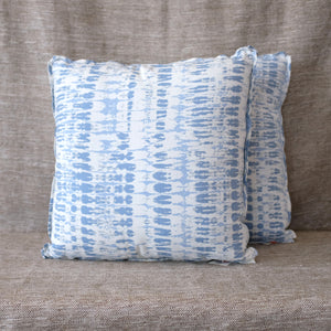 Pair of Tie Dye Outdoor Delft Pillows