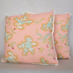 Pair of Viola Sprout Pillows