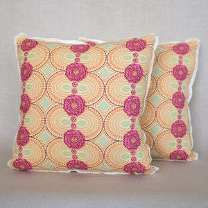 Pair of Amijao Pimento Pillows