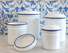 Load image into Gallery viewer, Enamelware Canister Set