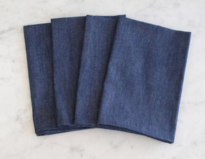 Table Napkins - Dark Denim