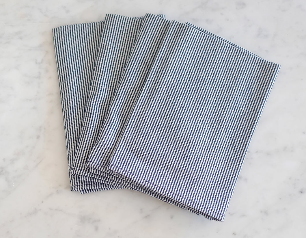 Table Napkins - Hickory Stripe