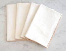 Load image into Gallery viewer, Table Napkins - Cream Burlap