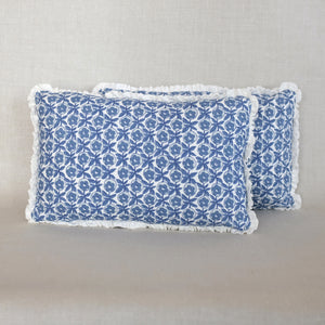 Pair of Oscar Delft Pillows