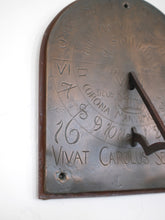 Load image into Gallery viewer, Cast Bronze Sundial