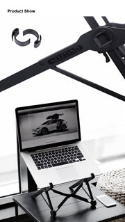 Foldable and Portable Laptop Stand