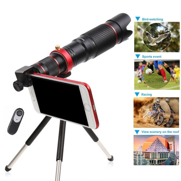 4K HD Telescope Camera Lens