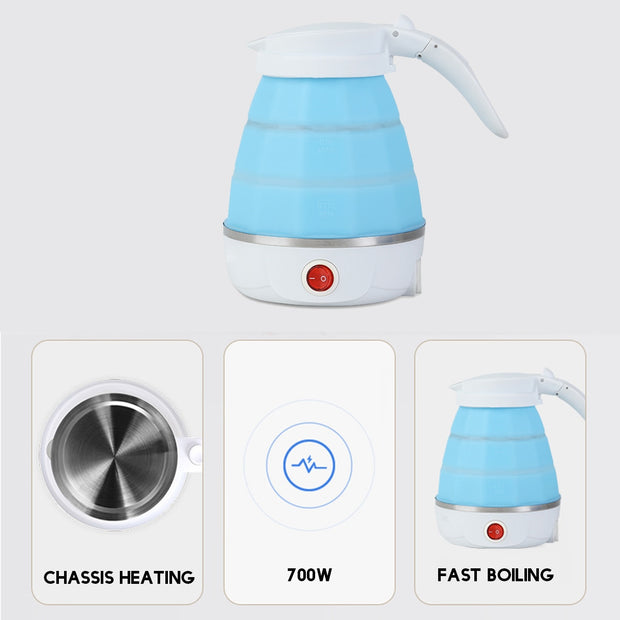 0.6L Foldable Silicone Kettle