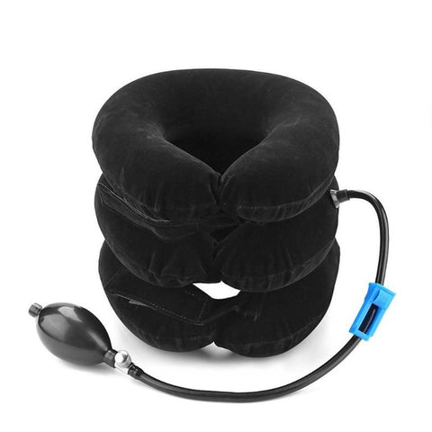 3-Layer Inflatable Neck Pillow