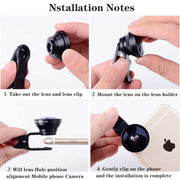 Smartphone Clip-On Lens