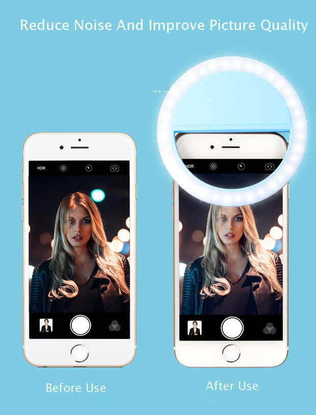 Mini LED Selfie Ring Light