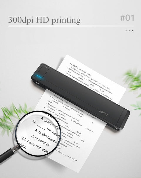 Wireless Portable Printer Anytime Anywhere