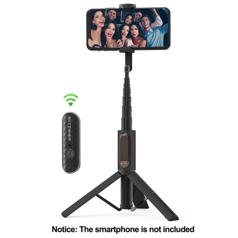 Portable Selfie Stick with Tripod