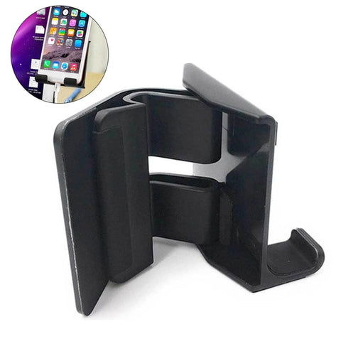 Laptop Side Mount Holds Phone