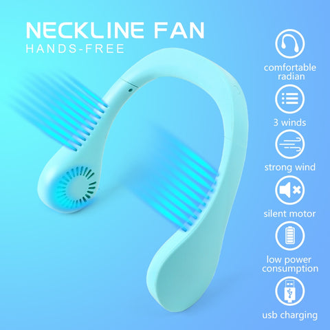 Portable Hanging Neck Fan