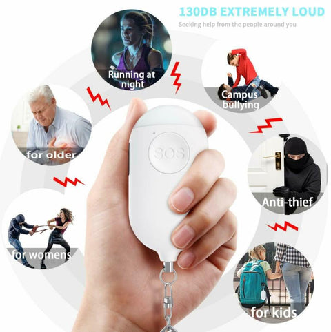 Rechargeable Personal Security Alarm