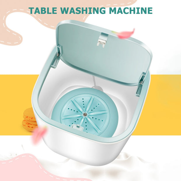 Mini Portable Foldable Washing Machine